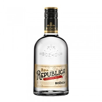 Rum Bozkov Republica Exclusive White 0,7l