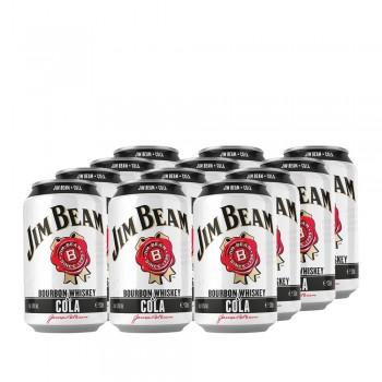 Jim Beam Bourbon & Cola Dosen (12x300ml)