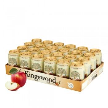 Original Kingswood Apfel Cider 24 x 330ml  Palette