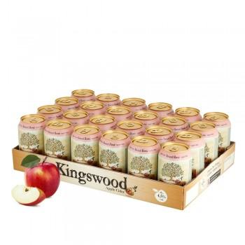Kingswood Rosé Cider 24 x 330ml Dosenpalette