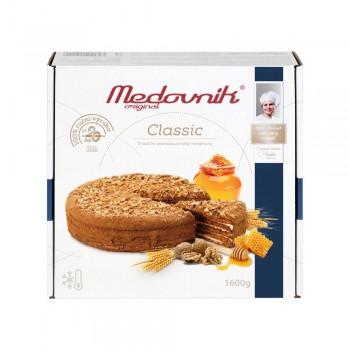 Honigtorte Medovnik Kuchen original Classic 1600g Tiefgefroren