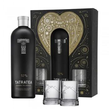 Tatratea 52% Geschenkset Gläser