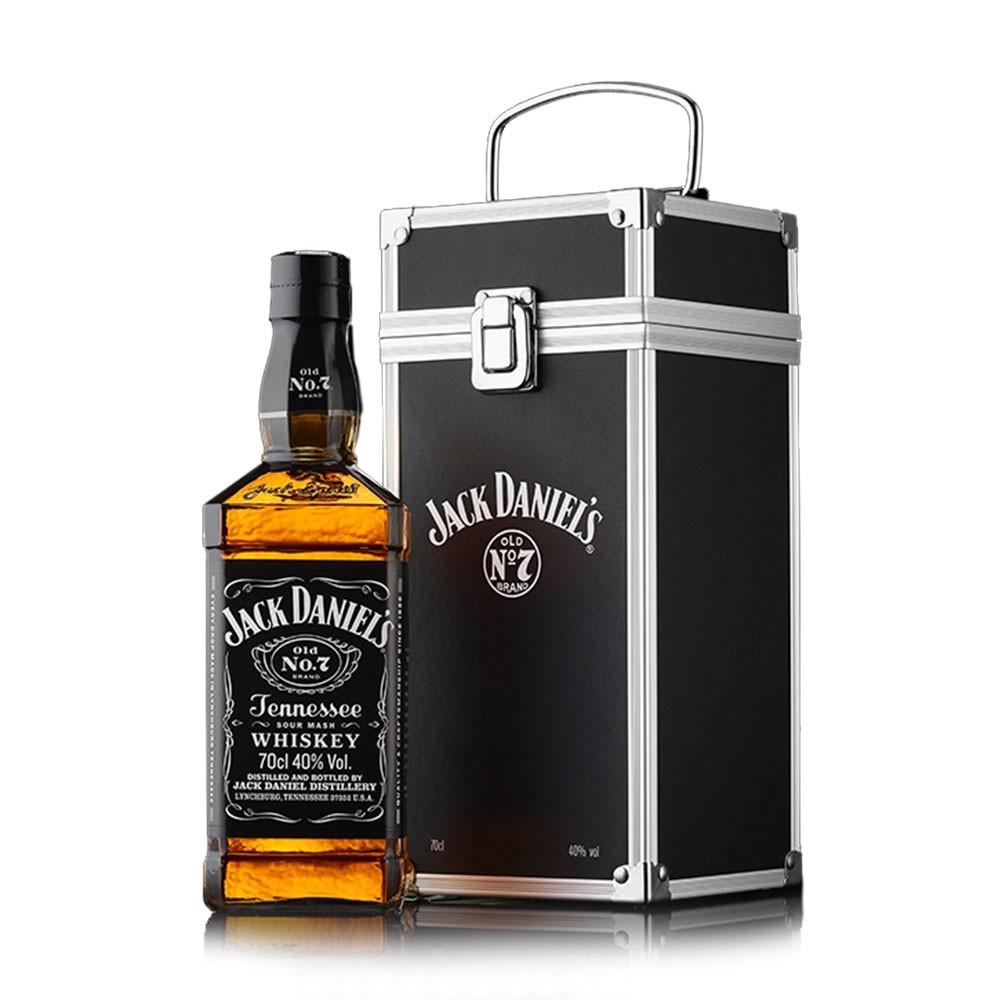jack daniel 39 s flight case geschenkset whisky online kaufen. Black Bedroom Furniture Sets. Home Design Ideas