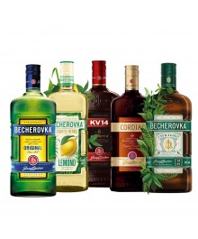 Becherovka Family Set 5 x 0,5 Liter