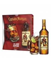 Captain Morgan Spiced Gold Set 0,7l mit Glaskrug