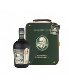 Diplomático Reserva Exclusiva Rum Suitcase Metall-Koffer