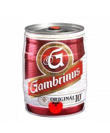 Gambrinus Original Partyfass 5 Liter Bierfass