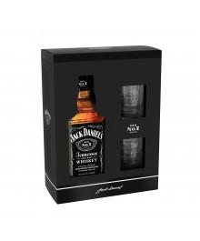 Jack Daniel's Geschenkkarton mit 2 Gläser