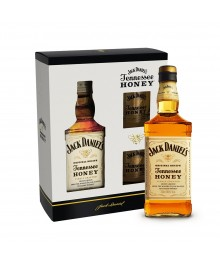 Geschenkset Jack Daniel's Tennessee Honey inkl. 2 Gläser