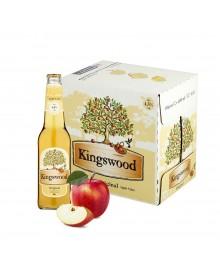 Kingswood Cider Apfelschaumwein Box 12 x 400ml