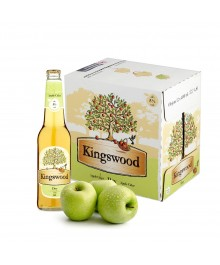 Kingswood Dry Cider Apfelschaumwein Box 12 x 400ml