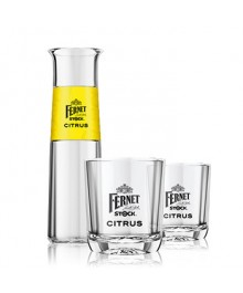 Fernet Citrus 0,5L Krug + 2 Gläser