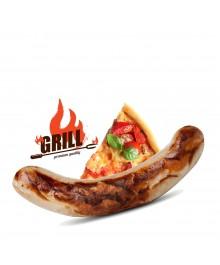 Pizza Bratwurst