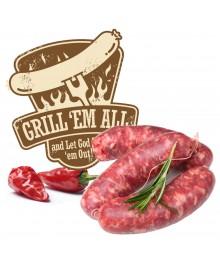 Salsiccia fresca al peperoncino Grill Wurst