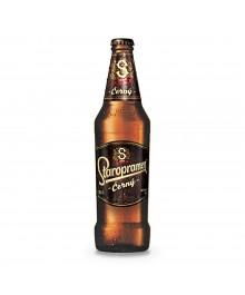 Dunkles Staropramen Cerny Bier