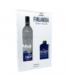 Finlandia Vodka Flachmann Geschenkset