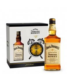 Jack Daniel's Honey Set mit Wecker 0,7l