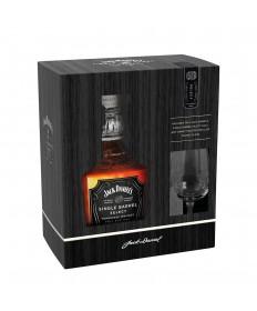 Jack Daniel's Single Barrel 0,7l Set mit Glas
