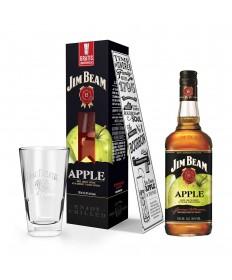 Jim Beam Apfel Whiskey-Likör Geschenkset