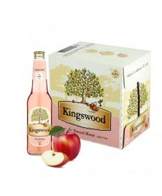 Kingswood Rosé Cider Apfelschaumwein Box 12x400ml