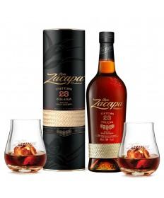 Ron Zacapa 23 Jahre Rum 1 Liter + Gläser