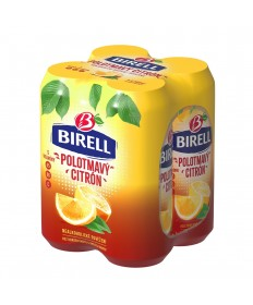 Birell Polotmavy Citron 4er Pack