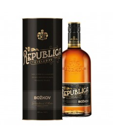 Rum Bozkov Republica Exclusive 0,7l Tube