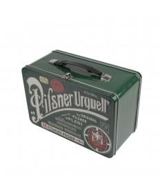 Pilsner Urquell Blechkoffer grün