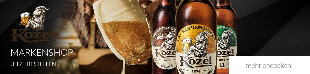 Kozel Bier online kaufen