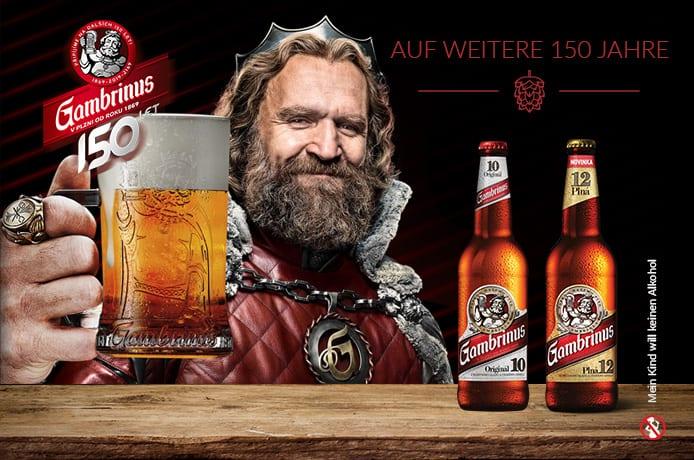 Gambrinus Bier
