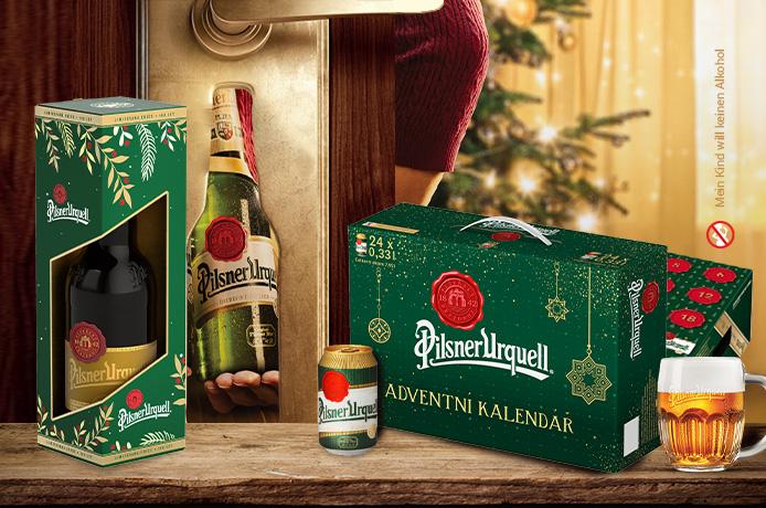 Pilsner Urquell Weihnachten